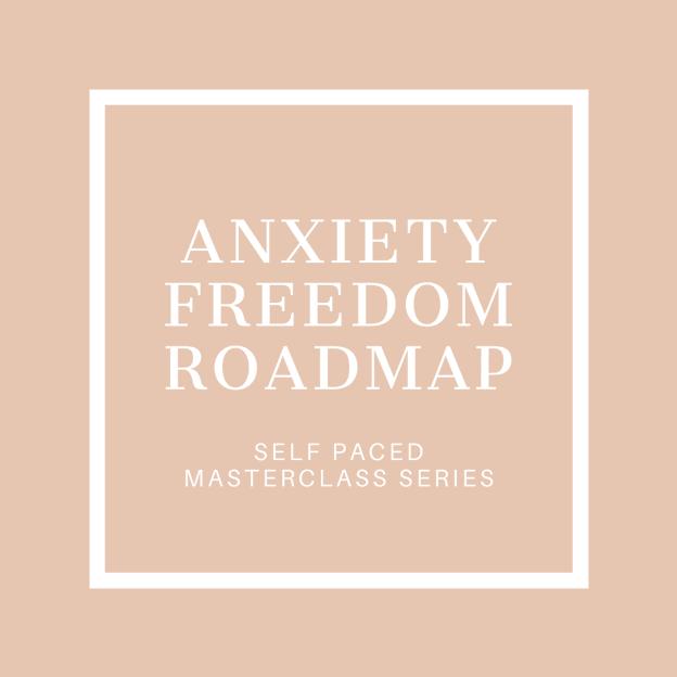 Anxiety Freedom Roadmap Icon