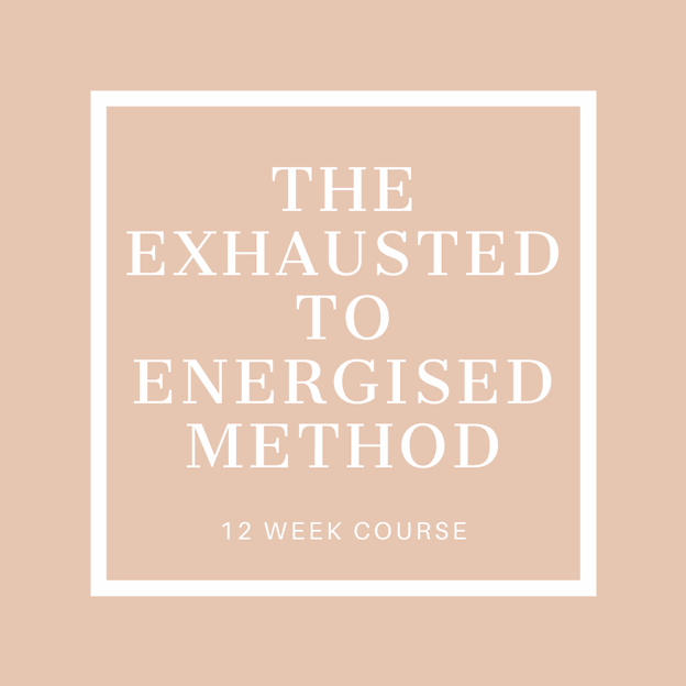 Exhausted to Energised Course Icon