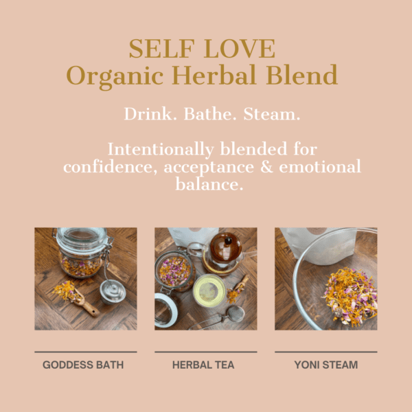 Herbal Blend Self Love, Holistic Health Collective